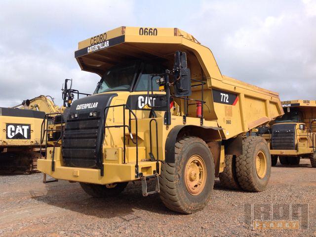 2011 Cat 772 Off-Road End Dump Truck