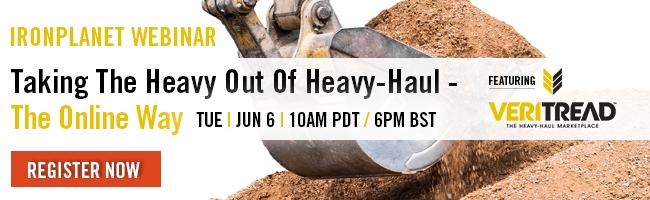 Webinar: Taking the Heavy Out of Heavy-Haul | June 6