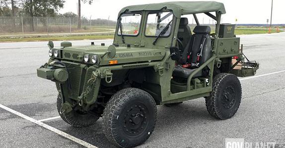 2010 General Dynamics M1163 ITV-PM 4x4 Growler