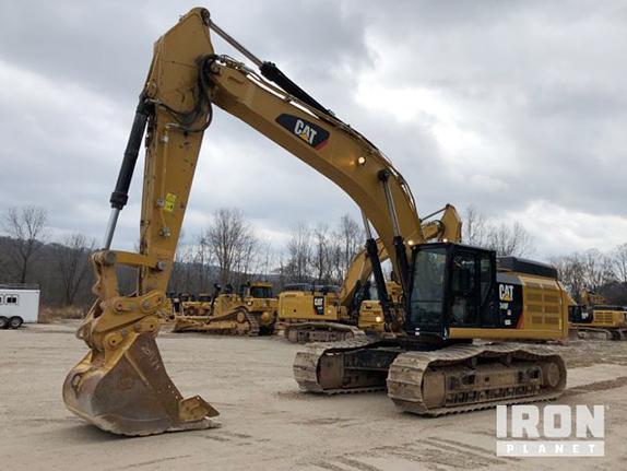 2018 Cat 349FL Track Excavator