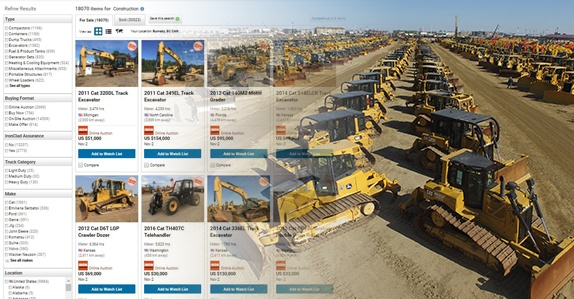 Top 10 reasons to buy used equipment at an online or onsite auction
