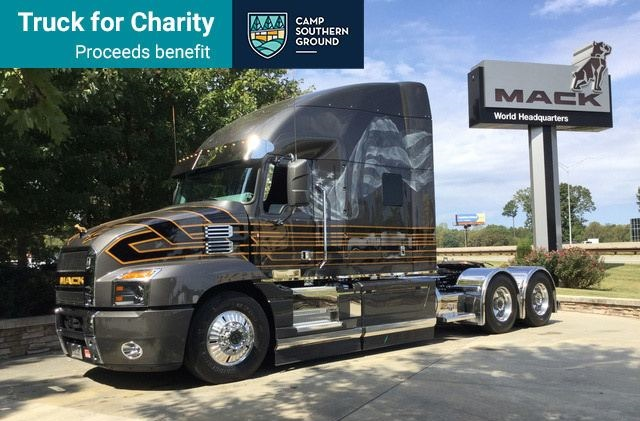 Truck for Charity Crop